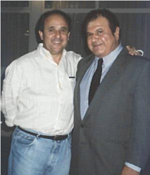Pete Bennett with Cristavum Buraque, Governor of Brasilia